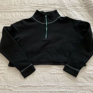 Wild Fable Cropped Quarter Zip